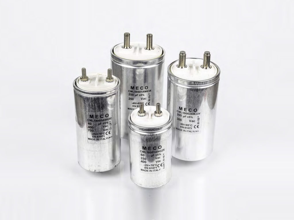 , Serie CML1, Meco Capacitors, Meco Capacitors