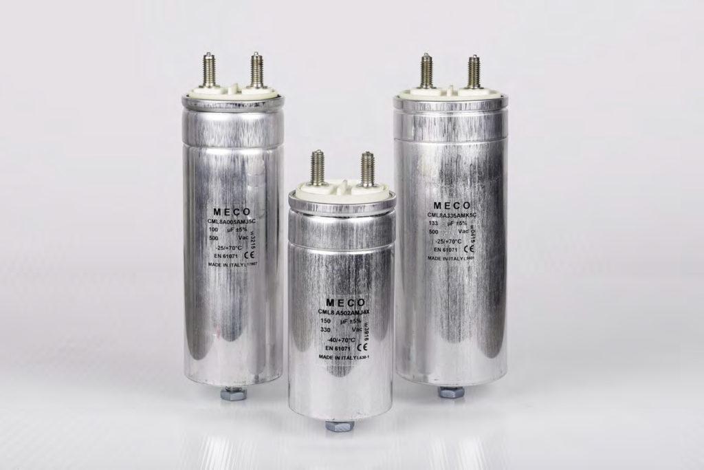 , Serie CML8, Meco Capacitors
