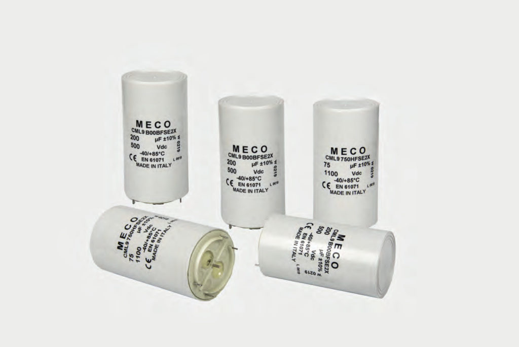 , CML9 Series, Meco Capacitors, Meco Capacitors